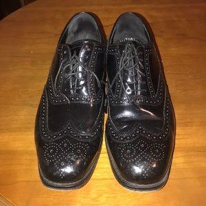 Florsheim Black Oxfords - Size 8.5 D.